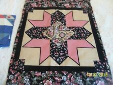 OZARK Calicos By Fabri-Quilt  ~ 2 Fabric Panels 12 Point Star~Floral & Pattern