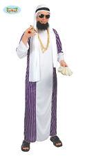 Costume vestito Arabo, sceicco, Musulmano adulto Halloween,Carnevale g80067