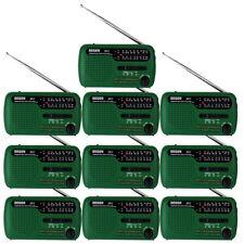 10*DEGEN DE13 Digital Radio FM MW SW Crank Dynamo Solar Emergency World Receiver