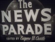 16mm  News Parade Woody Woodpecker Seconds Rock Hudson Tv Spot 1200'
