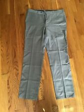 Ermenegildo Zegna Switzerland Brioni Trofeo Su Misura Gray Office Pants