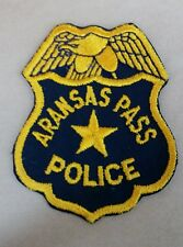 ARANSAS PASS, TEXAS POLICE SHOULDER PATCH TX