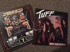 "Tuff Shameless dual vinyl ""Decadation"" ""The Filthy 7"" ft: Traci Guns Eric Singer"