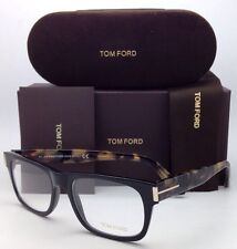 New TOM FORD Eyeglasses TF 5274 001 52-18 145 Black & Havana Frame w/Demo Lenses