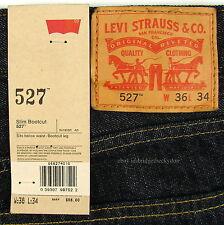 Levis 527 Jeans Mens New Slim Boot Cut Size 36 X 34 TUMBLED RIGID Levi's #942