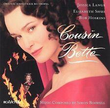 "RARE JESSICA LANGE/SIMON BOSWELL OST CD:""COUSIN BETTE"" 21 MUSIC TRX-SHIPS FREE!"