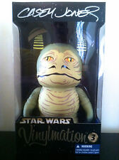 "DISNEY VINYLMATION 9"" JABBA THE HUTT SALACIOUS CRUMB JR STAR WARS SIGNED CASEY"