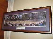 2001 World Series Arizona Diamond Backs vs. NY Yankees Matted and Framed Piece