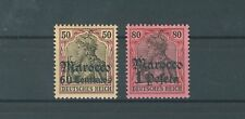 Deutsche Post in Marokko 28 und 29 ungebraucht (B00578)