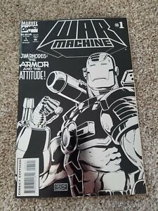 War Machine #1 NM- (Apr 1994, Marvel)