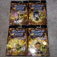 Mattel Shonen Jump's Shaman King 2005 Set Of 4 Figures Eliza Bason Amidamaru Etc