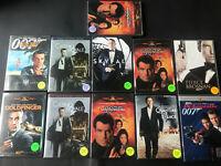 007 James Bond Movie Collection DVDs (8 Different Movies, 11 Movies Total) (D1)