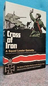 THE AVALON HILL GAME COMPANY: CROSS OF IRON - A SQUAD LEADER GAMETTE