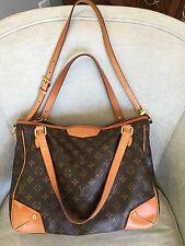 LOUIS VUITTON Monogram Tote, Double Handle, Shoulder Large Handbag Purse; $1800+