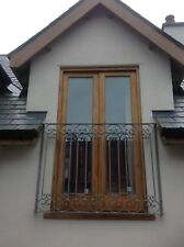 Scrolled type Wrought iron Juliet Balcony 1500 x 1100  Galvanised  Any colour