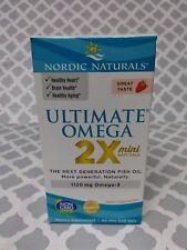 Nordic Naturals Ultimate Omega Strawberry 60 softgels