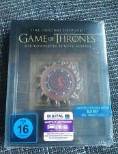 Game of Thrones Staffel 5 Bluray Steelbook Magnet + UV Code Deutsche Version NEU