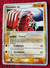 Groudon Ex 038 Promo Carta Pokémon Ita Holo Nintendo Game freaks 38