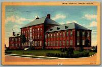 Linen Postcard~ Hospital~ Langley Field, Virginia~ c793