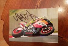 Autografo originale Valentino Rossi
