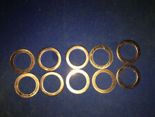 10PC. COPPER OIL DRAIN PLUG GASKET WASHER (007603-014106)  MERCEDES-BENZ 14mm