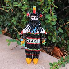 Native American Beadwork Zuni Beaded Rain Dancer by Todd Poncho
