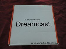 Rare Sega Dreamcast Transparent Blue Replacement Shell Console Case
