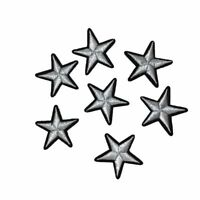 UK 12pc Star Embroidery Patches for Clothing Iron on Clothes Applique Decor