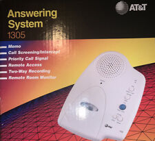 *🟧*AT&T Answering System 1305 Micro Cassette Answering Machine 2 Way Recording