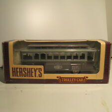 """ Hershey's 100th Anniversary "" Trolley Car, Diecast Coin Bank, 1:43,# B310 NIB"