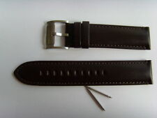 Fossil repuesto original pulsera de cuero me1098 uhrband watch Strap marrón Brown 22 mm