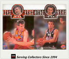 1995 Futera NBL Trading Cards SAMPLE Head To Head Diecut H2H1: Gaze / Lucas