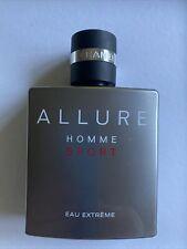 New listing chanel allure homme sport eau extreme 100ml Half Bottle!!