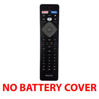 Used Original Philips NH800UP BT800 UHD 4K Smart TV Remote Control (No Cover)