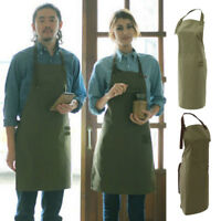 Canvas Workshop Artist Smocks Garden Apron Multi-purpose Apron for Men Women