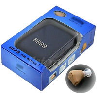 Rechargeable Best acousticon In Ear Hearing Aid Aids Audiphone Sound Amplifier