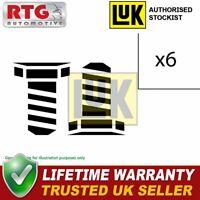 LUK Dual Mass Fly Wheel DMF Bolts Fitting Kit 411012210 - Lifetime Warranty