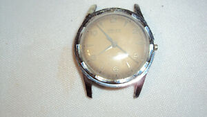 Vintage Gruen Autowind Swiss 17 jewel mens watch runs repair Royce Bidynator