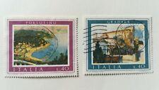 Francobolli Italia 1974 - Turismo - 2 valori Usati