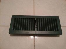 Floor Heater Vent - Green