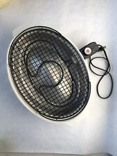 Dazey Nutri-Broil Indoor Smokeless Electric Grill Model 26211 Tested & Working