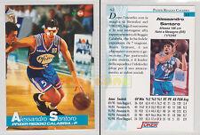 JOKER BASKET Serie A1 1994-95 - Alessandro Santoro # 62 - Mint