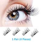 Mink Lashes Magnetic 3D Eyelashes Handmade Natural False Long Eye Lash Reusable