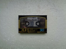 Vintage Audio Cassette MAXELL XLII-S 90 * Rare From Japan 1986 *
