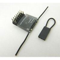 Lemon RX 6 Channel Receiver Feather Light Top Pin DSM2 / Spektrum Compatible UK