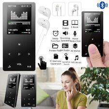 16GB Bluetooth MP3 Spieler HiFi Bass Musik Player APE FLAC FM Radio TF SD