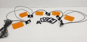 Lund Visor Cab Moon Sun Lens Kit Lenses / Gaskets & LED Wiring Harness