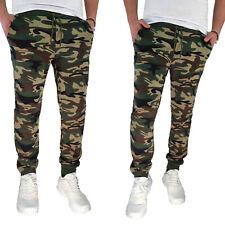 Pantalone Uomo Invernale Tuta Sportiva Joggers Sport Fitness Militare VEQUE