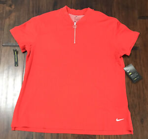 Nike Women's Dri-Fit Golf Zipper Shirt Sz. XL  NEW BV0227-657