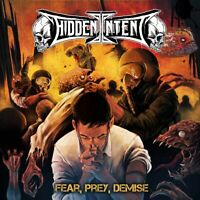 Hidden Intent Fear Prey Demise CD Digipak 2018 Indi Australian Thrash Metal New